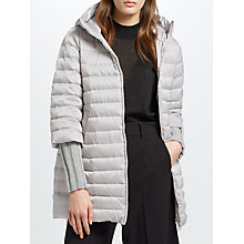 Buy Marella Giuliva Quilted Coat, Ice Online at johnlewis.com