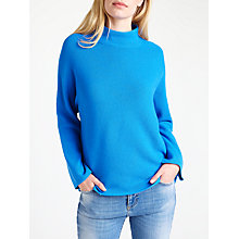 Buy Marella Gene Knitted Rib Jumper, Cornflower Blue Online at johnlewis.com