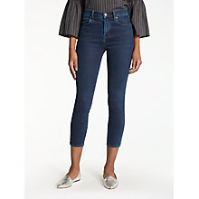 Buy J Brand Alana High Rise Cropped Super Skinny Jeans, Throne Online at johnlewis.com