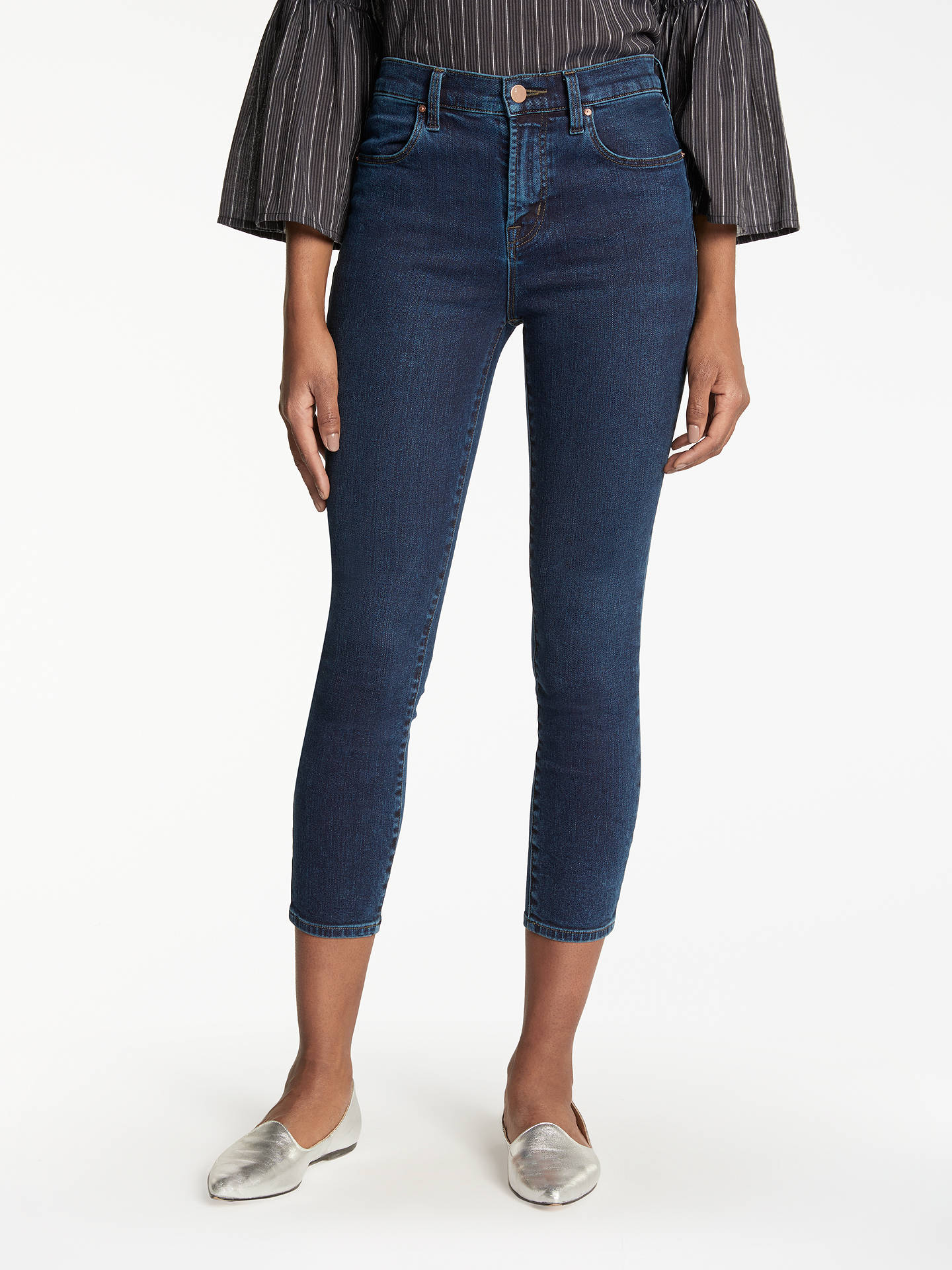 151189e3c2d0 Buy J Brand Alana High Rise Cropped Super Skinny Jeans, Throne, 24 Online  at ...