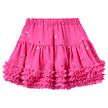 Buy Little Joule Girls' All-Over Star Tutu Skirt, True Pink Online at johnlewis.com