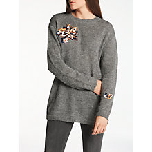 Buy Numph Salak Jumper, Iron Gate Online at johnlewis.com