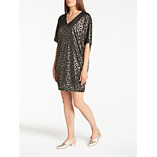 Buy Numph Kahikatea Dress, Caviar Online at johnlewis.com