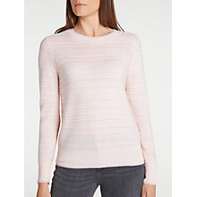 Buy Numph Santol Jumper, Grossamer Pink Online at johnlewis.com