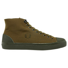 Buy Fred Perry Hughes Hi-Top Trainers Online at johnlewis.com