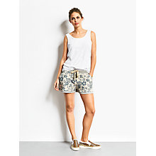 Buy hush Hawaiian Print Shorts, Blue/Grey Online at johnlewis.com