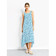 Buy hush Iris Triangle Print Dress, Blue Online at johnlewis.com