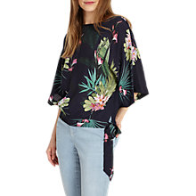 Buy Phase Eight Mila Tropical Print Blouse, Multi Online at johnlewis.com