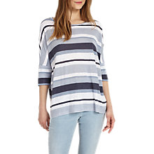 Buy Phase Eight Harper Stripe Top, Multi Online at johnlewis.com