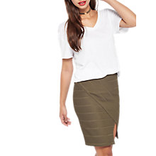 Buy Miss Selfridge Bandage Wrap Skirt Online at johnlewis.com
