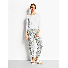 Buy hush Hawaiian Print Joggers, Blue/Grey Online at johnlewis.com