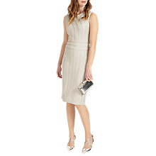 Buy Phase Eight Lucia Dress, Silver Online at johnlewis.com