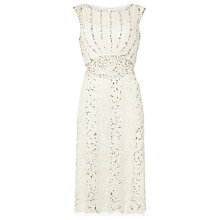 Buy Phase Eight Bridal Hallie Wedding Dress, Ivory Online at johnlewis.com