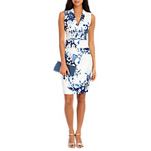 Buy Phase Eight Chinoiserie Print Dress, White Online at johnlewis.com