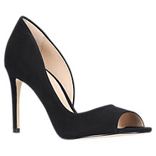 Buy Carvela Glaze High Heel Court Shoes, Black Online at johnlewis.com
