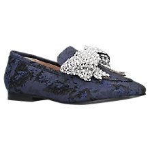 Buy KG by Kurt Geiger Khloe Bow Loafers Online at johnlewis.com