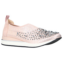 Buy KG by Kurt Geiger Opheila Slip On Trainers, Metal Comb Online at johnlewis.com