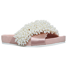 Buy KG by Kurt Geiger Magnolia Embellished Slider Sandals Online at johnlewis.com