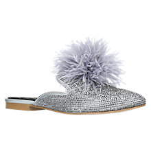 Buy Carvela Like Mule Shoes, Grey Online at johnlewis.com