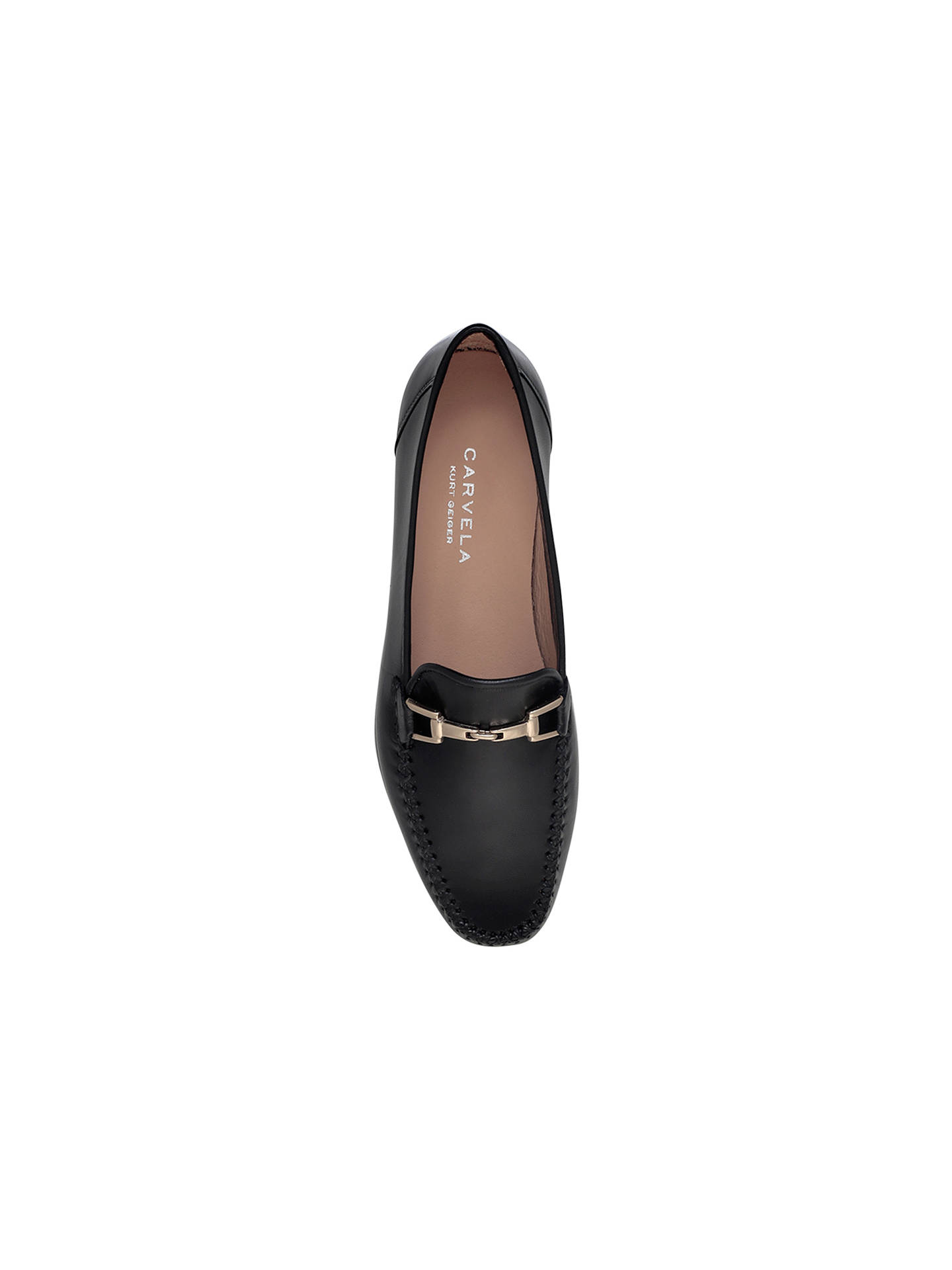 BuyCarvela Mariner Loafers, Black, 4 Online at johnlewis.com