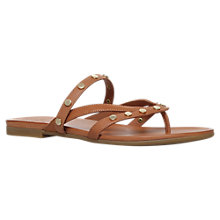 Buy KG by Kurt Geiger Modena Studded Toe Post Sandals Online at johnlewis.com