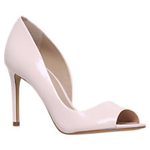 Buy Carvela Glaze High Heel Court Shoes, Nude Patent Online at johnlewis.com