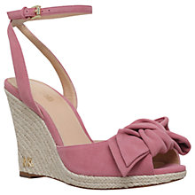 Buy MICHAEL Michael Kors Willa Wedge Heel Sandals Online at johnlewis.com