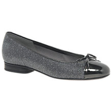 Buy Gabor Brach Wide Fit Bow Ballet Pumps Online at johnlewis.com