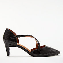 Buy John Lewis Adaline Cross Strap Court Shoes Online at johnlewis.com