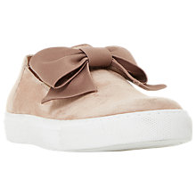 Buy Dune Emelia Bow Slip On Trainers Online at johnlewis.com