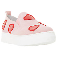 Buy Dune Black Ever-After Slip On Trainers, Pink Online at johnlewis.com