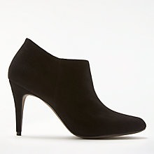 Buy John Lewis Willow Shoe Boots, Black Suede Online at johnlewis.com