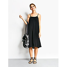 Buy hush Grecian Dress, Black Online at johnlewis.com