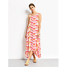 Buy hush Cut About Stripe Iris Dress, Pink Online at johnlewis.com