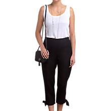 Buy Pure Collection Tie Hem Linen Trousers Online at johnlewis.com