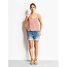 Buy hush Sequin Vest, Pink Online at johnlewis.com