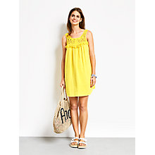 Buy hush Macrame Beach Dress, Dandelion Online at johnlewis.com