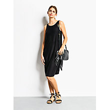 Buy hush Rosa Scoopback Dress, Black Online at johnlewis.com