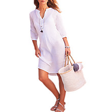 Buy Pure Collection Laundered Linen Tunic Online at johnlewis.com