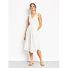 Buy hush Magnolia Dress, White Online at johnlewis.com