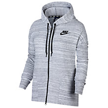 Buy Nike Sportswear Advance 15 Jacket, White/Black Online at johnlewis.com