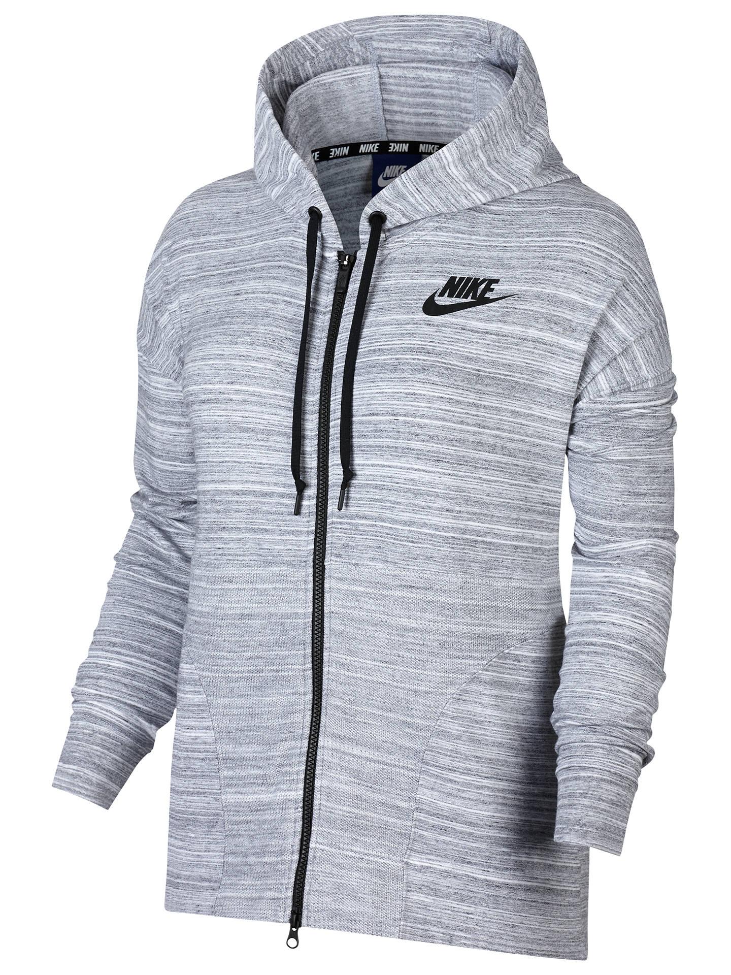a9bc6625 Buy Nike Sportswear Advance 15 Jacket, White/Black, XS Online at johnlewis.