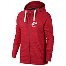 Buy Nike Sportswear Hoodie, Red Online at johnlewis.com