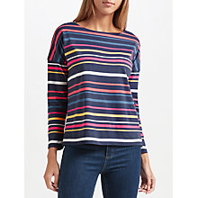 Buy Collection WEEKEND by John Lewis Stripe Drop Sleeve Top, Multi Online at johnlewis.com