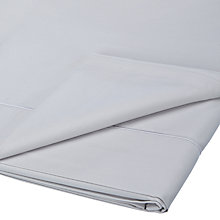 Buy John Lewis 400 Thread Count Soft & Silky Egyptian Cotton Flat Sheet Online at johnlewis.com