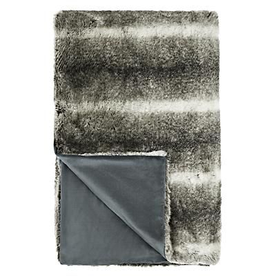 John Lewis Faux Fur Throw