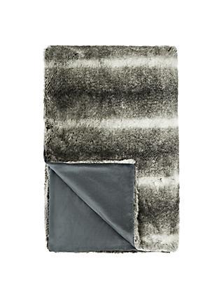 John Lewis Partners Faux Fur Throw