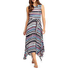 Buy Phase Eight Gwyn Stripe Maxi Dress, Multi Online at johnlewis.com