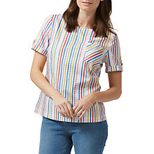 Buy Sugarhill Boutique Petra Candy Stripe Top, Multi Online at johnlewis.com