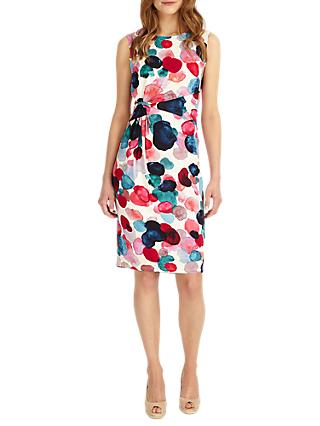 Phase Eight Artists Pallet Spot Dress, Multi